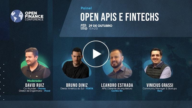 Painel Open API e Fintechs
