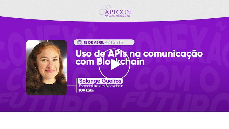 APIs na comunicação com Blockchain