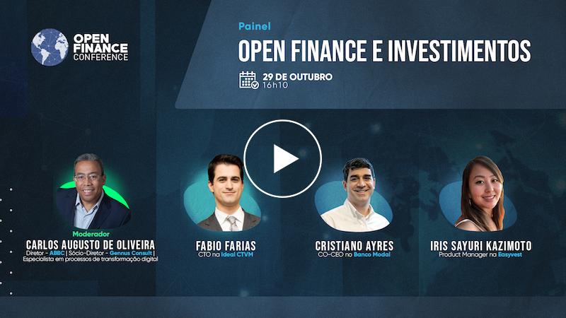 Painel Open Finance e investimentos
