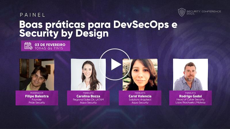 Boas práticas para DevSecOps e Security by Design